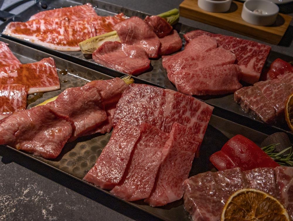 燒肉中山 牛肉拼盤