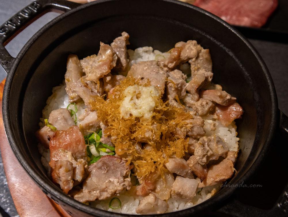 燒肉中山 蒜奶油鍋巴飯