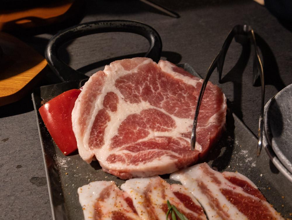 燒肉中山 本地豚三品