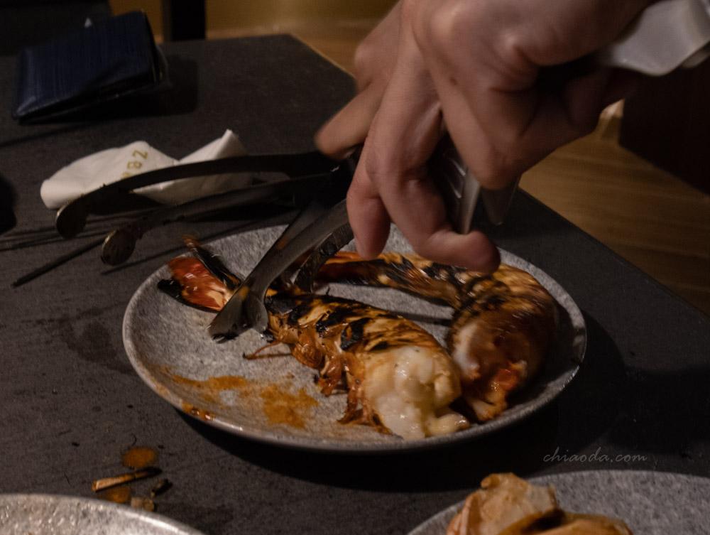 燒肉中山 兩種巨人海鮮