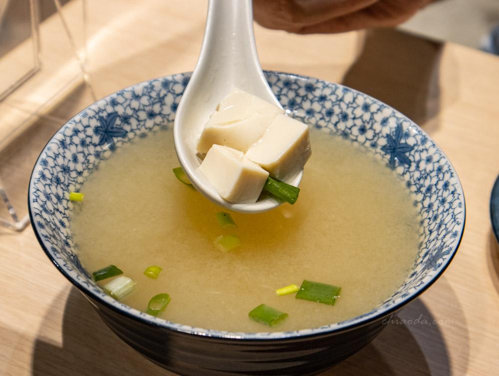 振興行 味噌豆腐湯