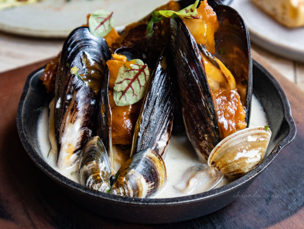 FORE restaurant 淡菜蛤蜊鍋