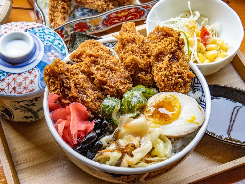 金禾食堂 日本廣島酥炸牡蠣定食