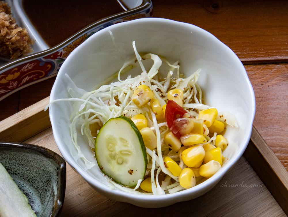 金禾食堂 日式定食 沙拉