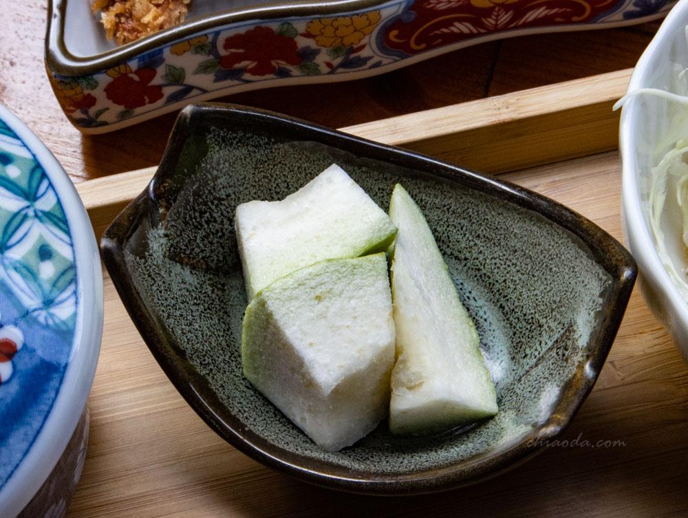 金禾食堂 日式定食 水果