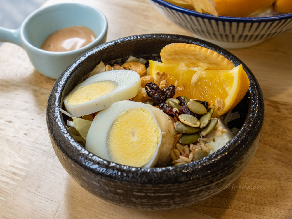 柒早日式早午餐 套餐沙拉