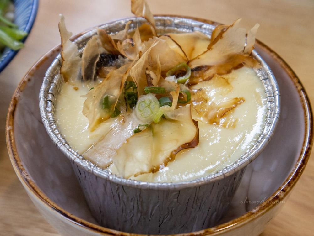 柒早日式早午餐 套餐蒸蛋