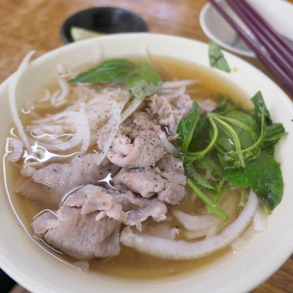 樂業路越南小吃 豬肉湯河粉