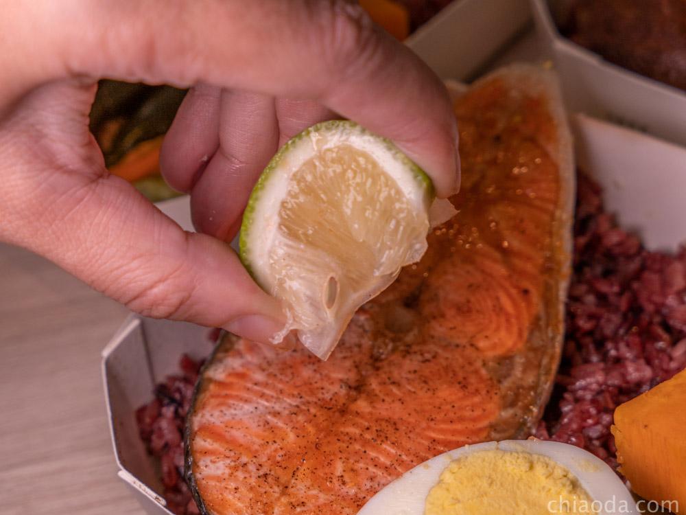 selfree纖活健康餐  香檸烤鮭魚