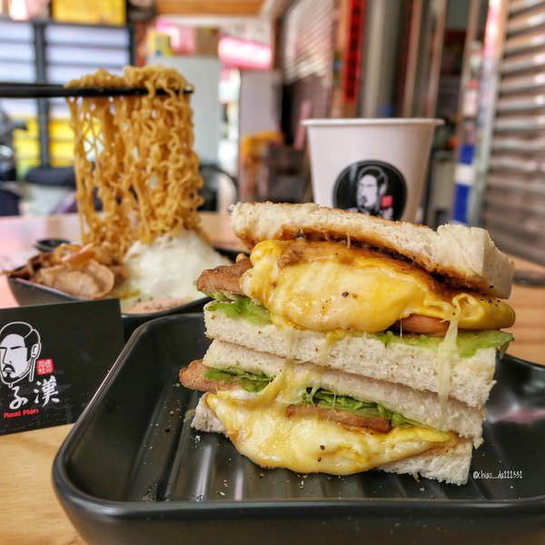 台中北區 男子漢炭烤吐司 中國醫商圈4月新開幕的人氣早餐店!