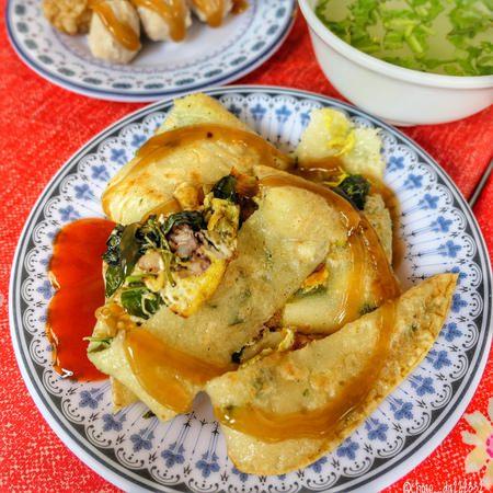 阿嬤蔥油餅|綠島必吃的小吃 關東煮只要$10