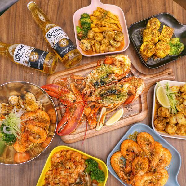 台中西屯|拌拌堂&粥潮 台中朝馬周邊晚餐宵夜好去處!主打水煮海鮮&海鮮粥