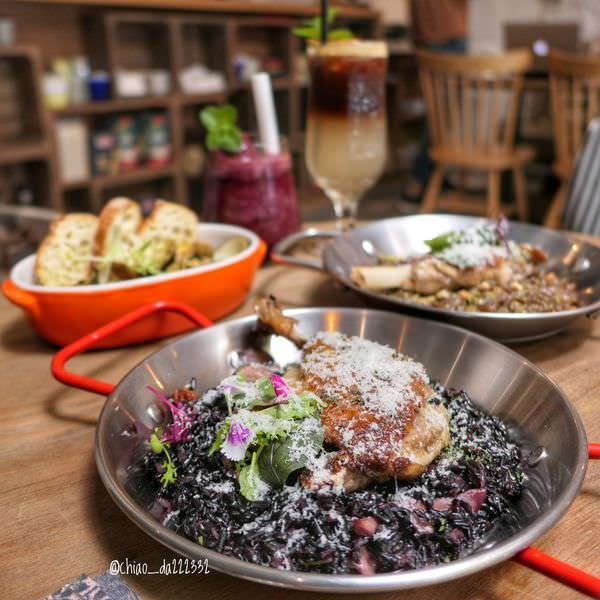 里頌RisoRiso|勤美綠園道周邊,有層次感的精緻義式料理(2019菜單)