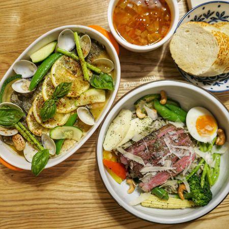 遊牧餐桌|台中美術館周邊巷弄餐廳!特色地中海料理,好吃又營養滿分!